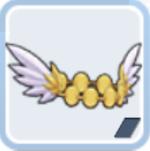 ダンサーの羽飾り