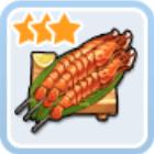 魔法のチャーム海鮮串焼き