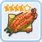 プロンテラ王室の魚介串焼き