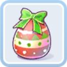 クリスマスの赤い卵