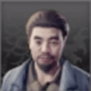 ひげ面の男のアイコン