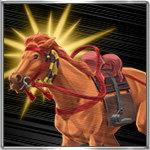 騎馬突撃のアイコン