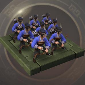 先鋒弓兵のアイコン