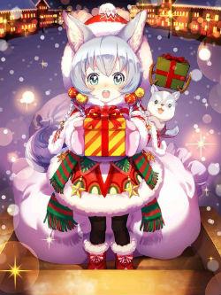 コヨミ(クリスマス)_覚醒絵