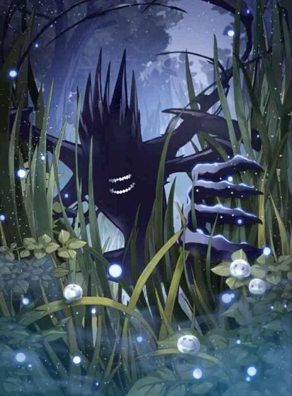 影の怪物画像