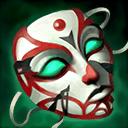 悲愴な仮面のアイコン