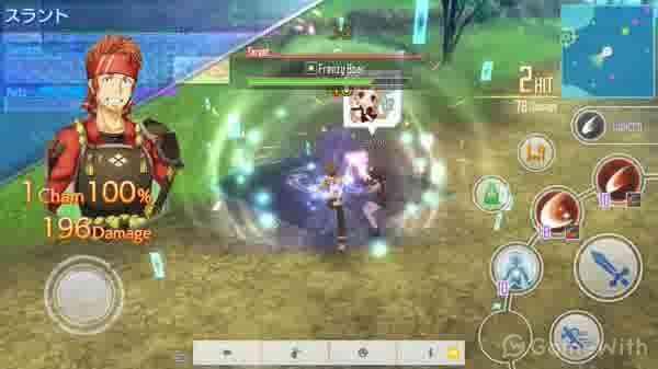 オンラインRPGのiPhoneゲームア...
