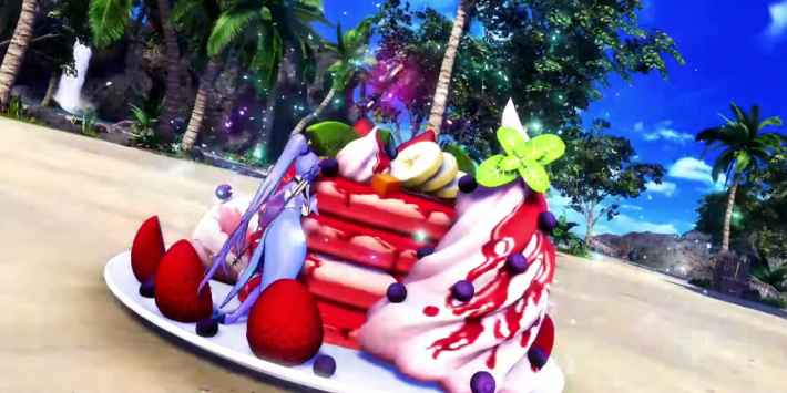 メディアリリィのパンケーキ(アーケード版)