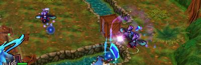 カースワスプが様々な方向から攻撃を仕掛けてきている画像