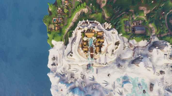 ヴァイキングの上空画像