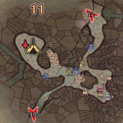 大蟻塚の荒地エリア11