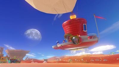スーパーマリオ オデッセイの画像