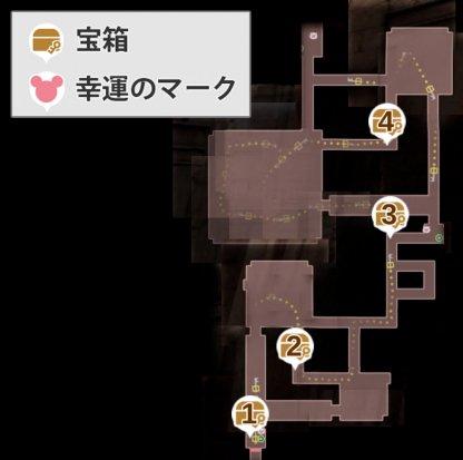 孤立の回廊-断絶の迷宮のマップ画像