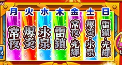 各神殿の名称画面
