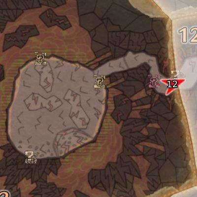 龍結晶の地エリア13