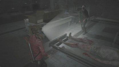 鍵を取った後の死体