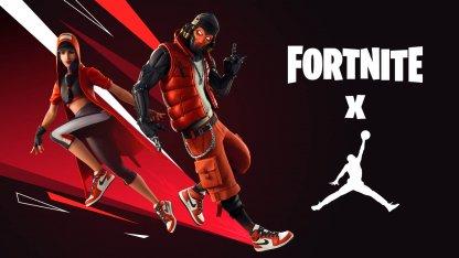 Fortnite×Jordanの画像