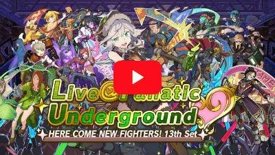 Live@Fanatic UndergroundガチャのPVが公開!