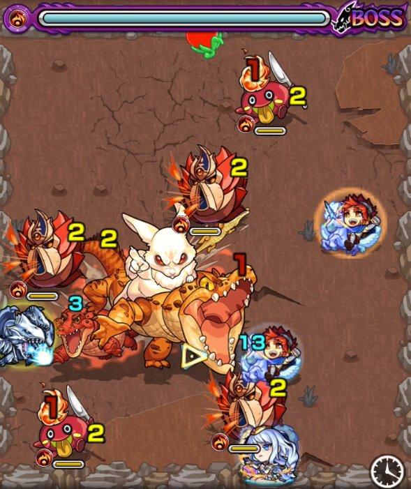 白兎イナバ極のボス1