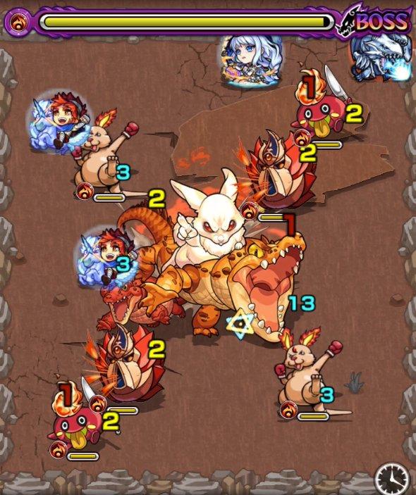 白兎イナバ極のボス3