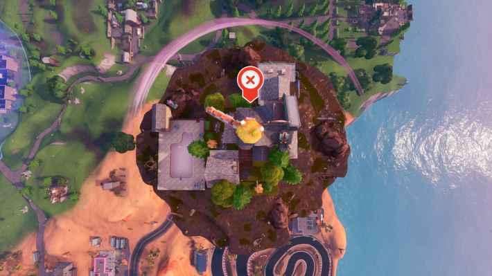 浮島の上空画像