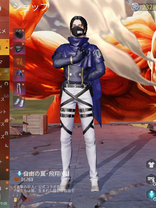 調査兵団・飛翔