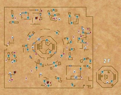 聖心病院の全体マップ
