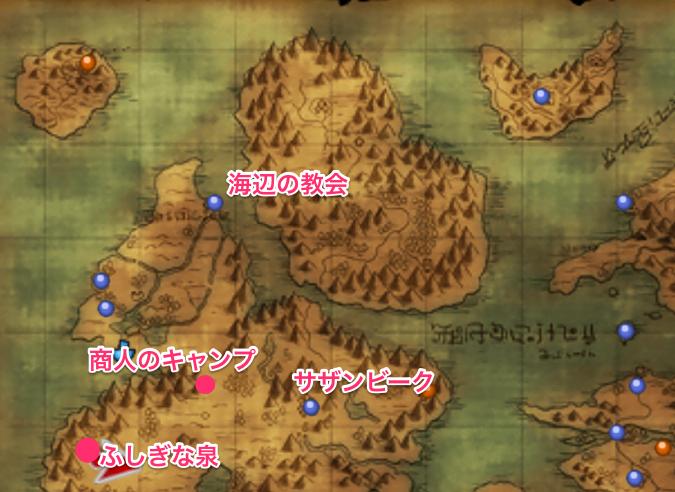 闇 の レティシア マップ
