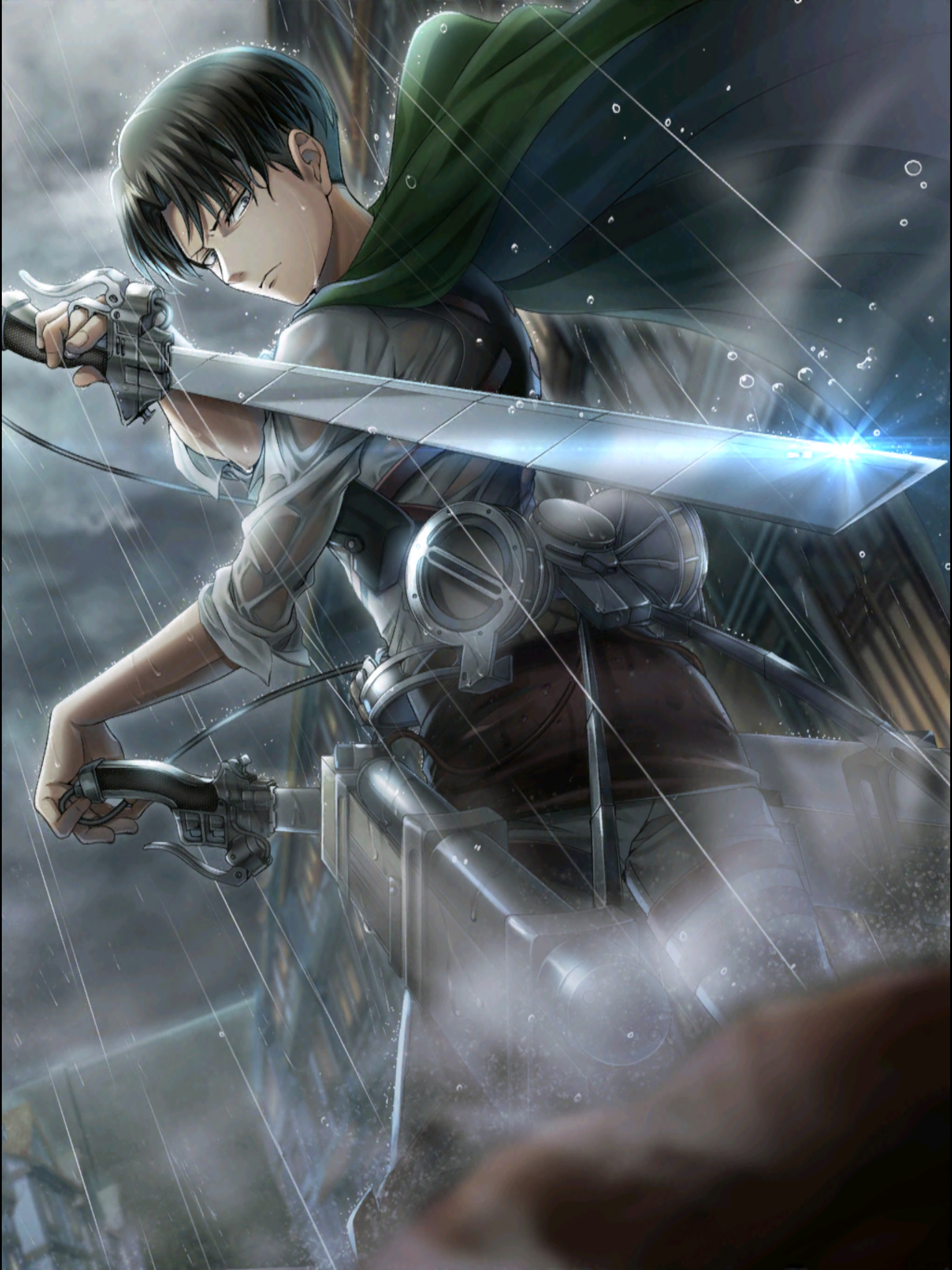 人類最強の兵士リヴァイ